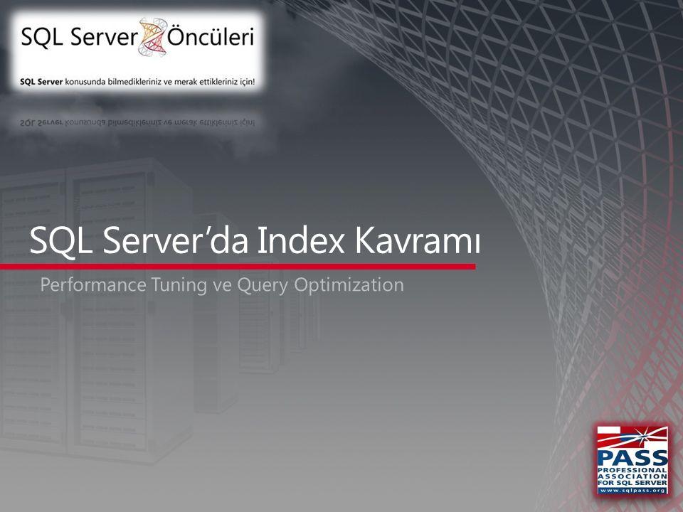  Telefon defteri için mesleki bir index yapmak iyi bir NonClustered Index örneğidir.