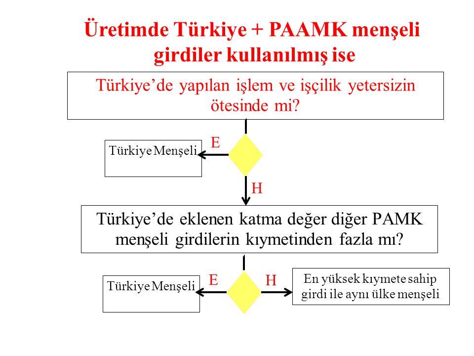 Türkiye'de yapılan işlem ve işçilik yetersizin ötesinde mi.