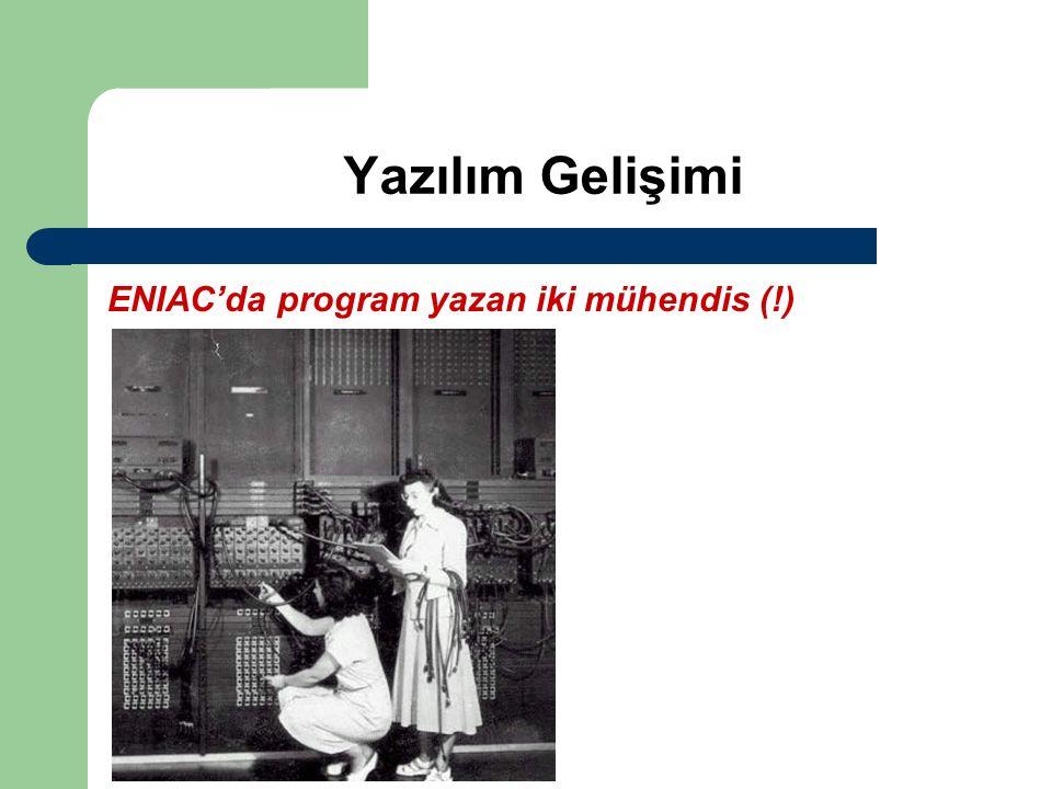 Yazılım Gelişimi ENIAC'da program yazan iki mühendis (!)