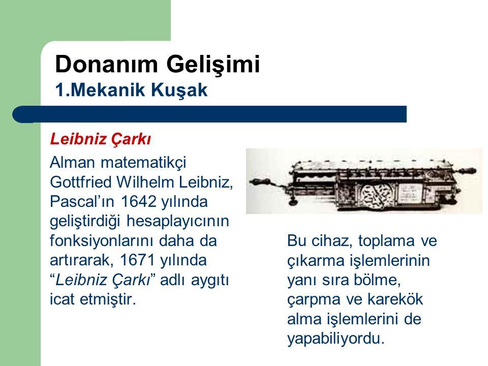 Fark Makinesi Charles Babbage (1791- 1871), matematiksel işlemlerin yanı sıra, günlük hayatta karşılaşılan bazı problemleri de çözebilen bir makineyi 1830 yılında icat etti.
