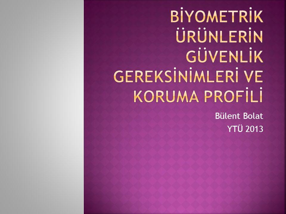 Bülent Bolat YTÜ 2013