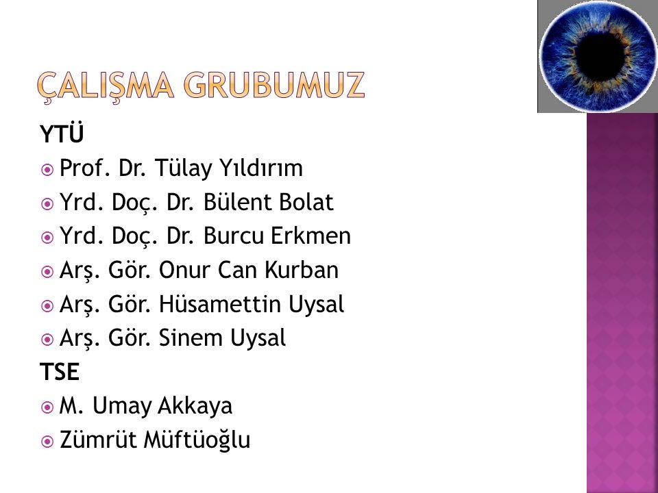 YTÜ  Prof. Dr. Tülay Yıldırım  Yrd. Doç. Dr.