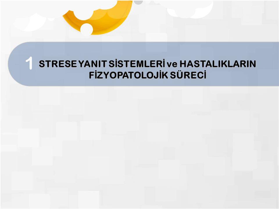 Hücrede strese kar ş ı yanıt programı Stres Stresin bitmesi veya bitirilmesi Strese yanıt sisteminin aktivasyonu Stresli ya ş amaya adaptasyon Normale dönü ş Normale dönememe İ ntihar patoloji