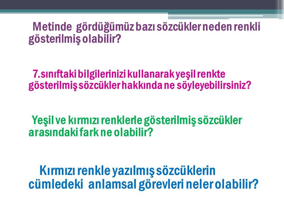 Aşağıdaki cümlelerin hangisinde farklı bir fiilimsi kullanılmıştır.