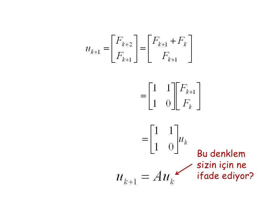 Bu denklem sizin için ne ifade ediyor?