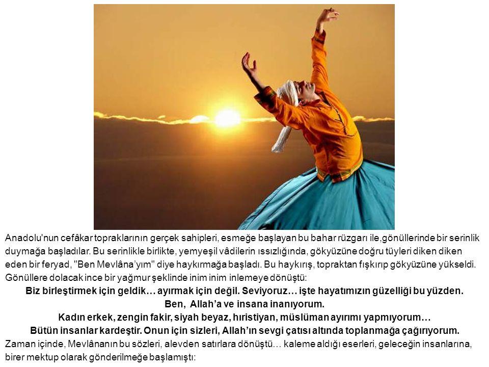 Anadolu'nun cefâkar topraklarının gerçek sahipleri, esmeğe başlayan bu bahar rüzgarı ile,gönüllerinde bir serinlik duymağa başladılar. Bu serinlikle b