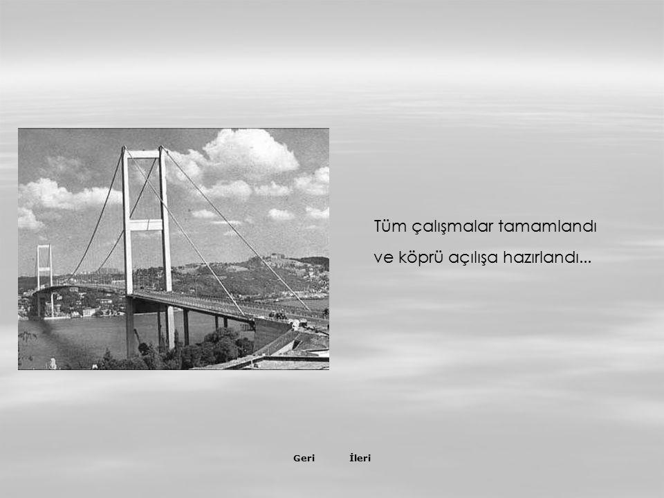 İleriGeri 20 Temmuz 1973 Yaklaşım viyadüğü inşaatı…