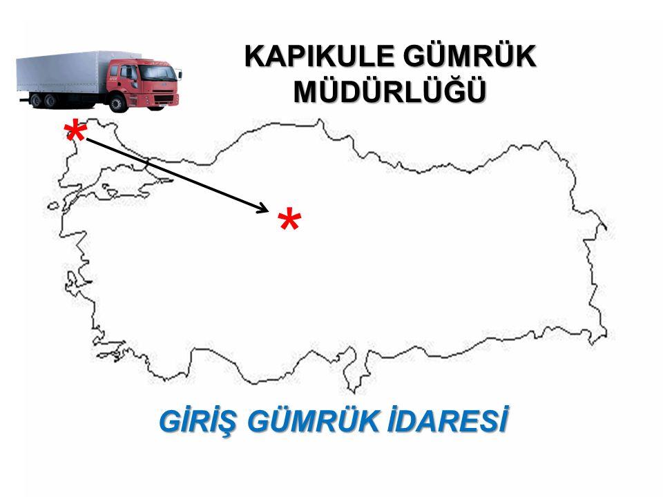 İthalat gümrük idaresi: Türkiye Gümrük Bölgesine getirilen eşyanın risk analizine dayalı kontrolleri de dâhil olmak üzere gümrükçe onaylanmış bir işlem ve kullanıma tabi tutulmasına ilişkin işlemlerinin yerine getirildiği gümrük idaresini; 8