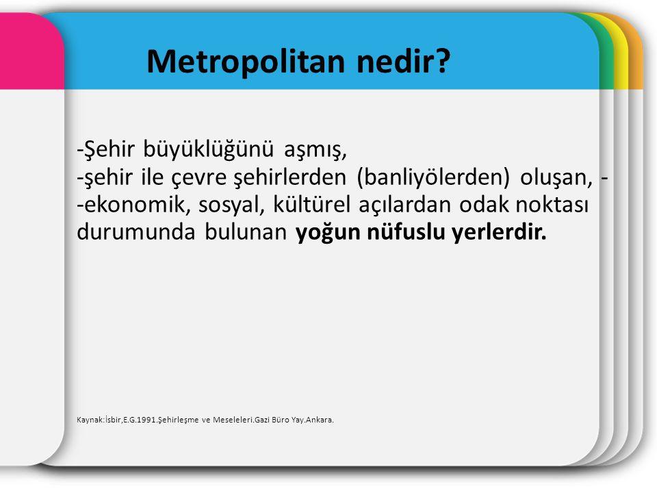 Metropolitan nedir.