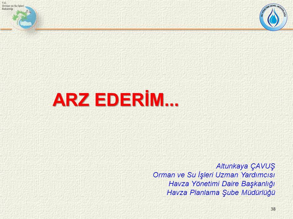 ARZ EDERİM...
