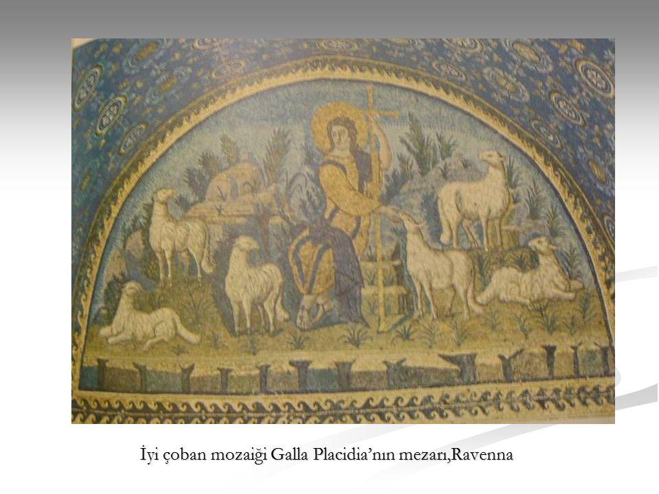 İyi çoban mozaiği Galla Placidia'nın mezarı,Ravenna