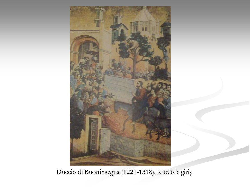 Duccio di Buoninsegna (1221-1318), Küdüs'e giriş