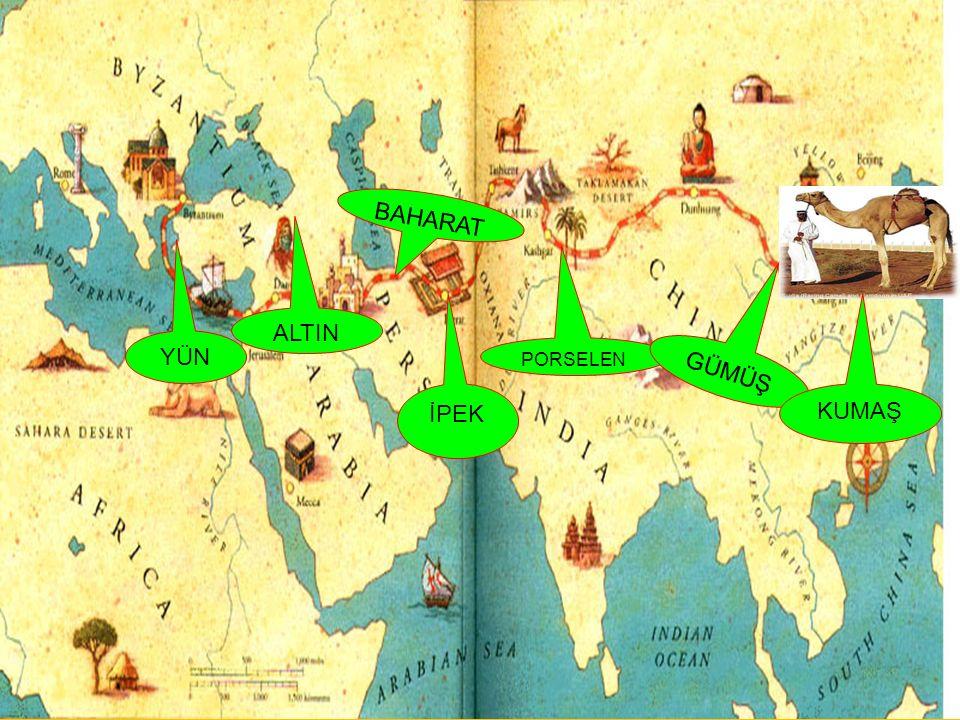 Türk Tarihi, İpek Yolu çevresinde şekillenmiştir.