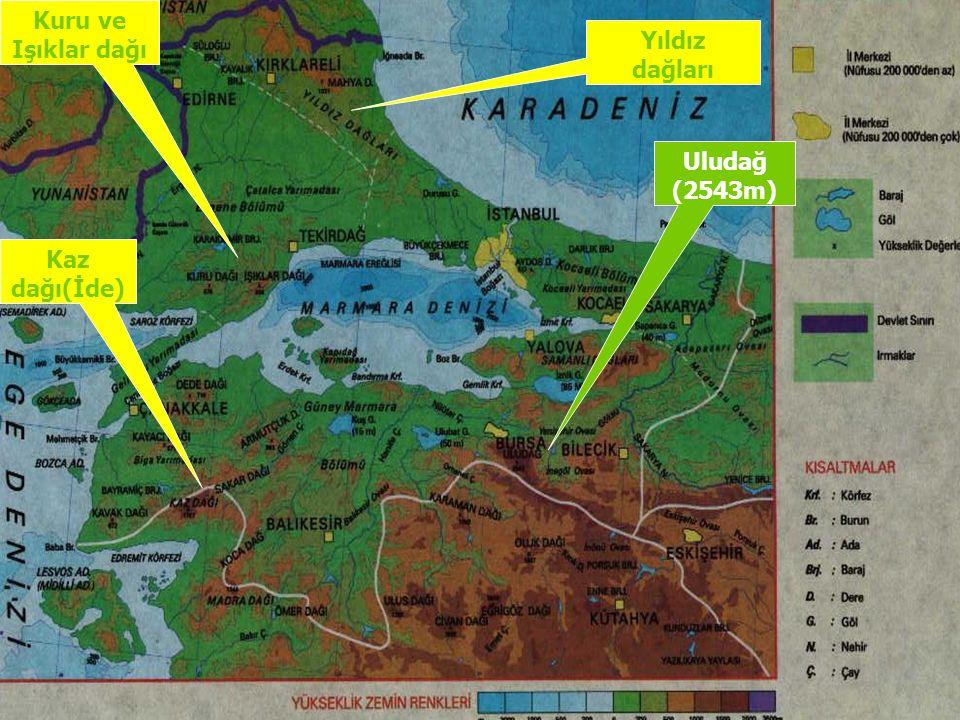 Alanı ve Nüfusu Gerçek Alanı 67.306 Km 2 olup ; Ülke Yüzölçümünün % 8.5 ini kaplamaktadır.