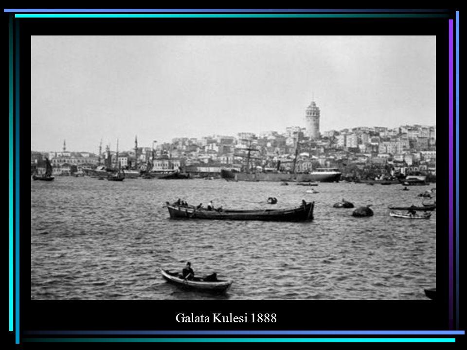 Galata Rıhtımı 1888