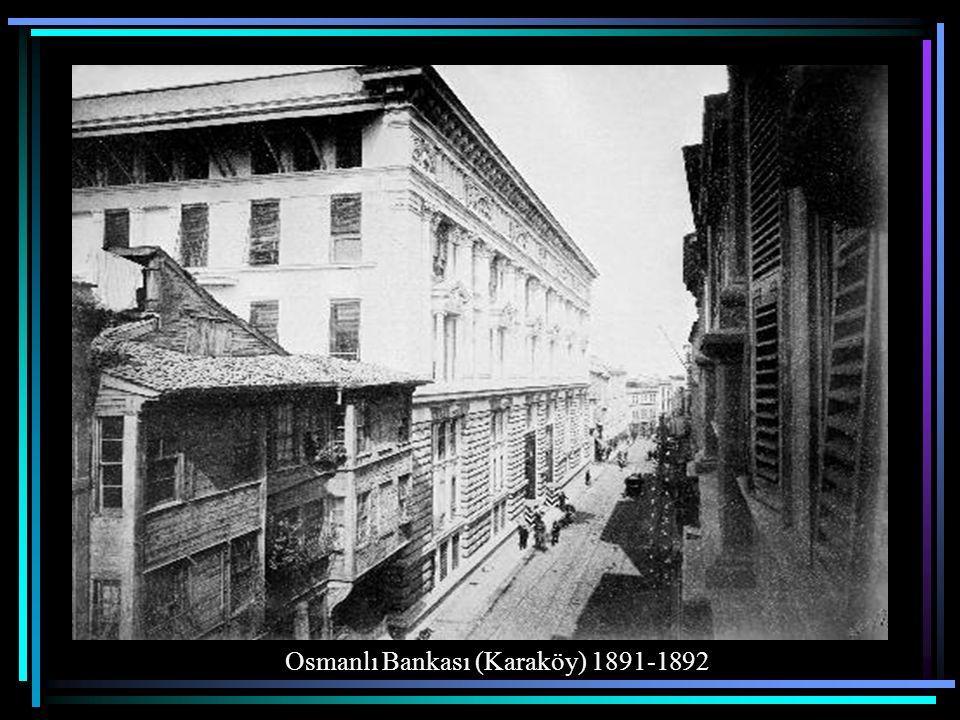 Pera Palas Oteli Beyoğlu 1897