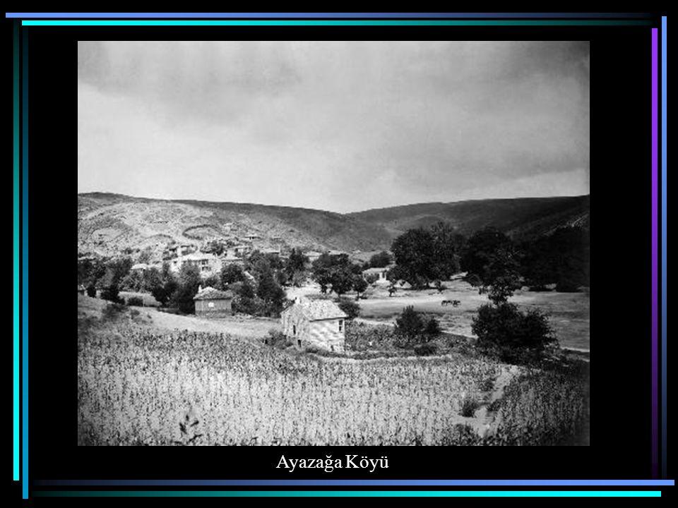 Ayazağa Köyü'nde Camii Şerif
