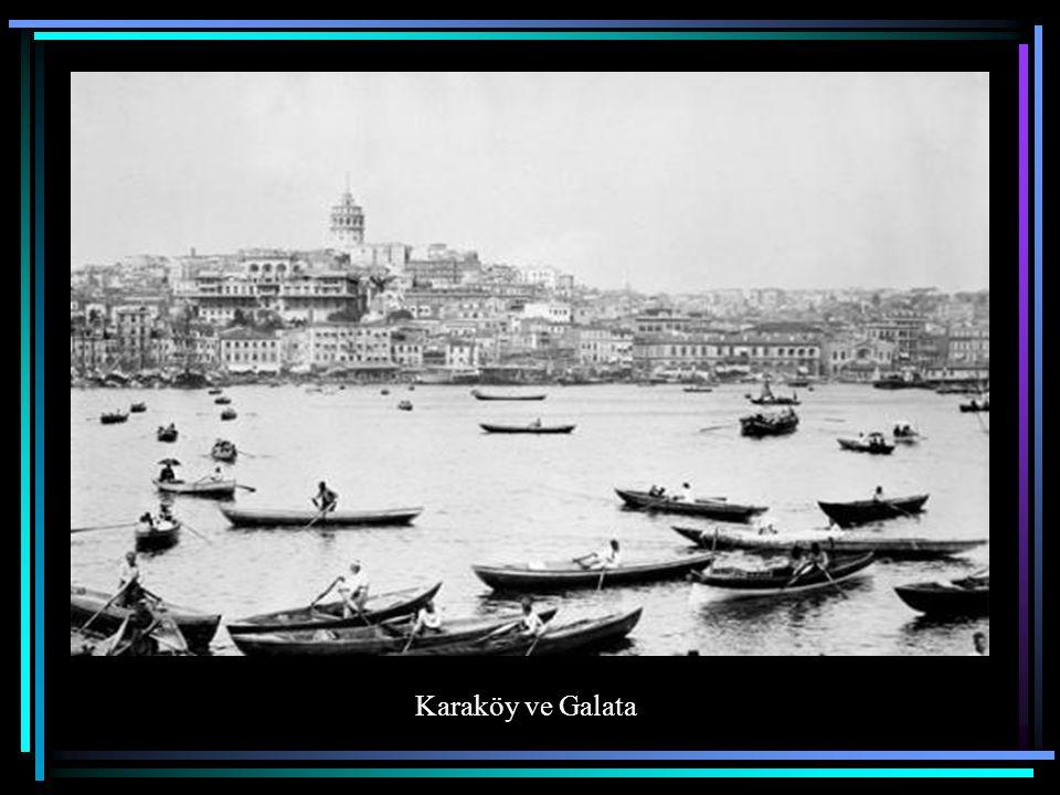 Karaköy'den Galata Köprüsü