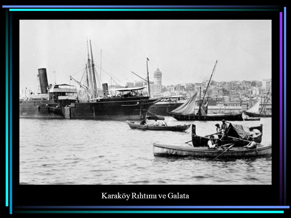 Karaköy Rıhtımı ve Galata