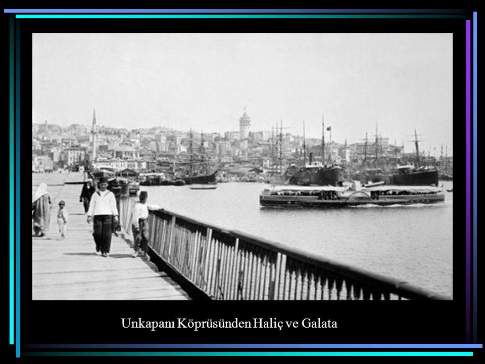 Unkapanı Köprüsünden Haliç ve Galata