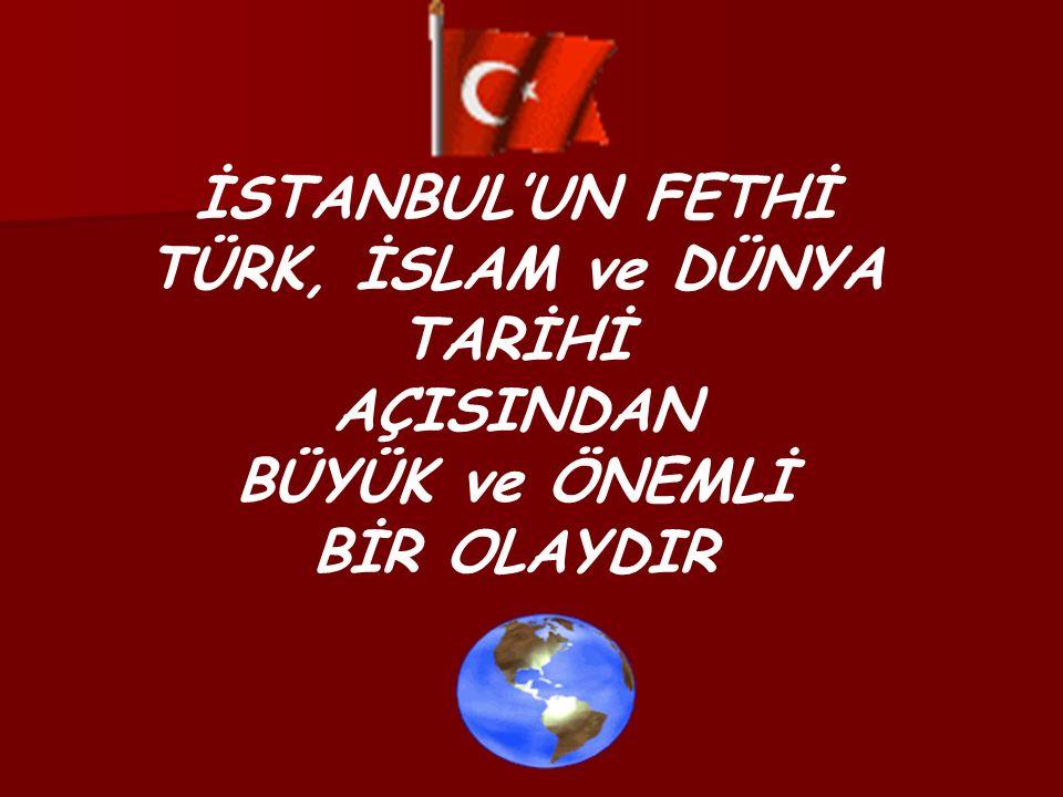 Fatih Sultan Mehmed, İstanbul un fethedilmesini kolaylaştıracak önemli kararını verdi.