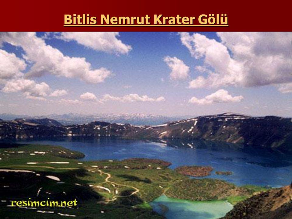Bitlis Nemrut Krater Gölü