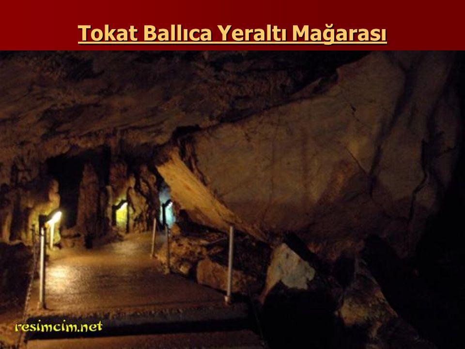 Tokat Ballıca Yeraltı Mağarası