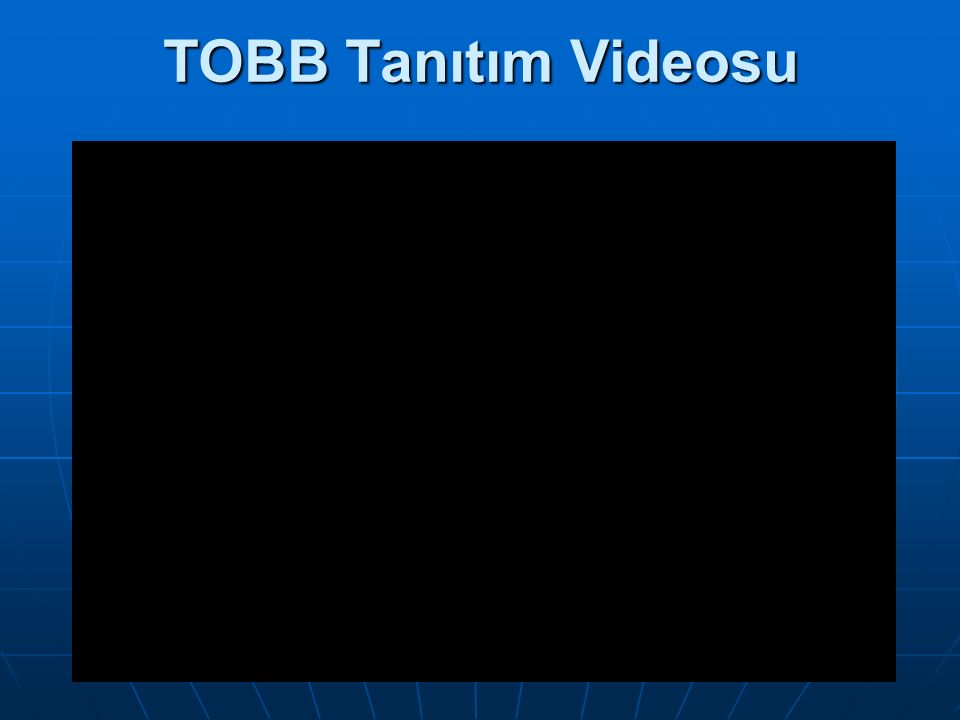 TOBB Tanıtım Videosu