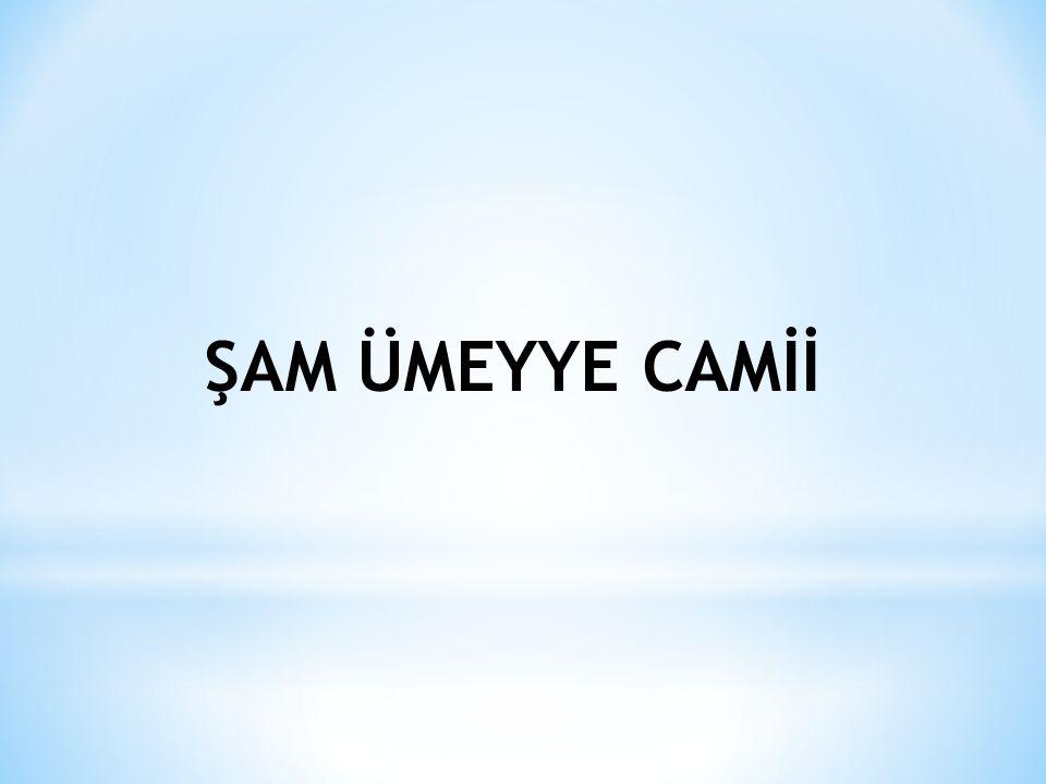 ŞAM ÜMEYYE CAMİİ