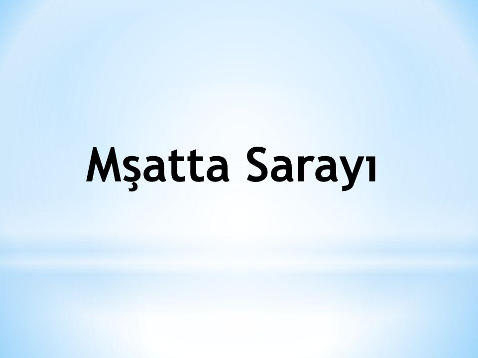 Mşatta Sarayı