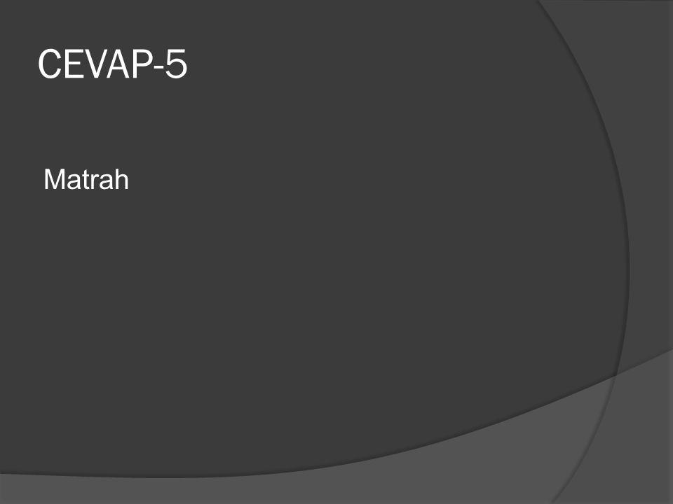 CEVAP-5 Matrah