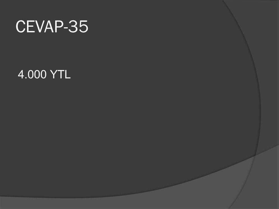 CEVAP-35 4.000 YTL
