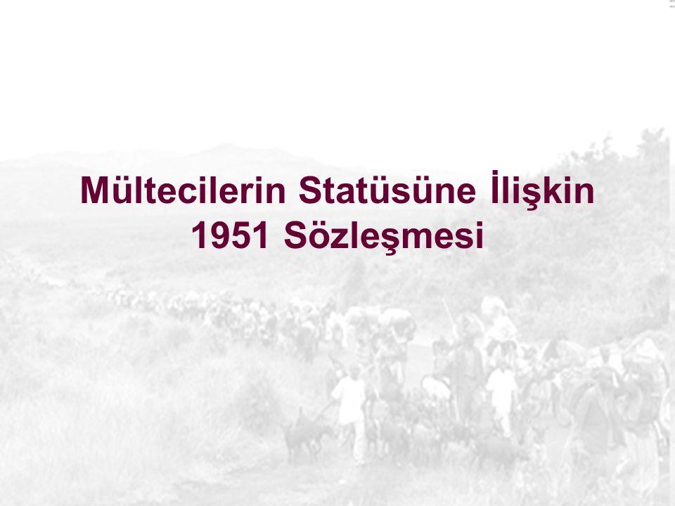 Mültecilerin Statüsüne İlişkin 1951 Sözleşmesi