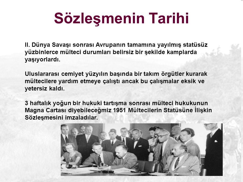 Sözleşmenin Tarihi II.