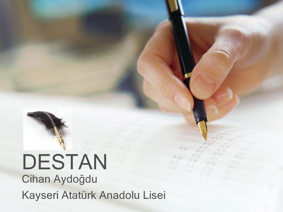 DESTAN Cihan Aydoğdu Kayseri Atatürk Anadolu Lisei