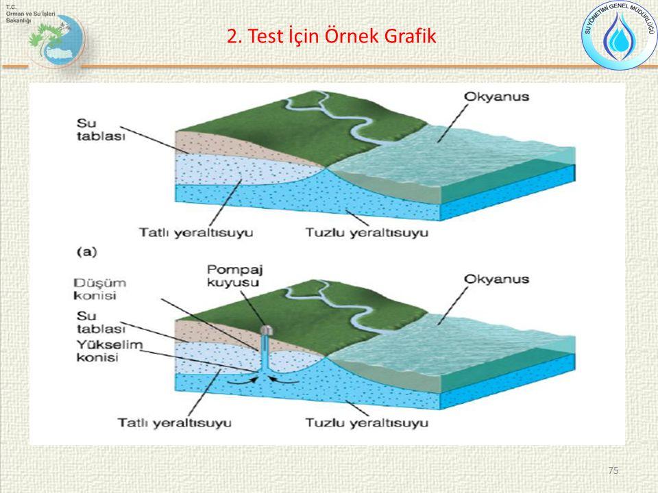 75 2. Test İçin Örnek Grafik