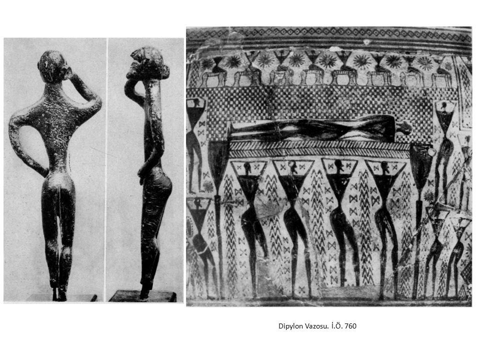 Dipylon Vazosu. İ.Ö. 760