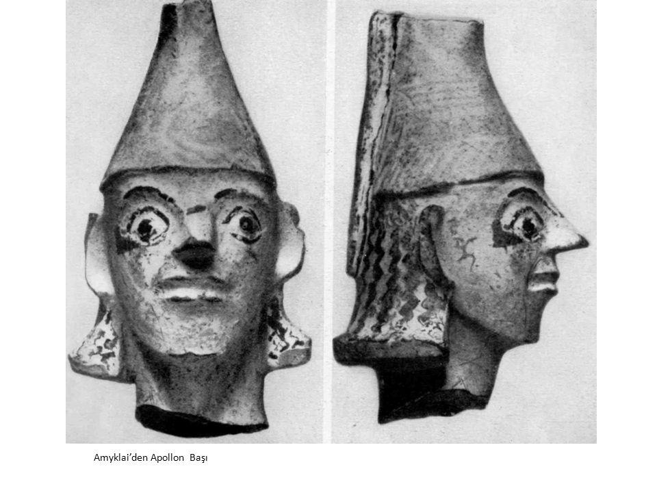 Amyklai'den Apollon Başı
