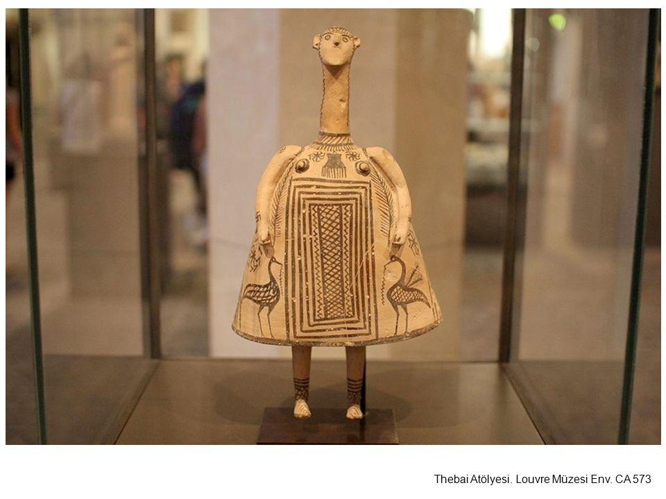 Thebai Atölyesi. Louvre Müzesi Env. CA 573