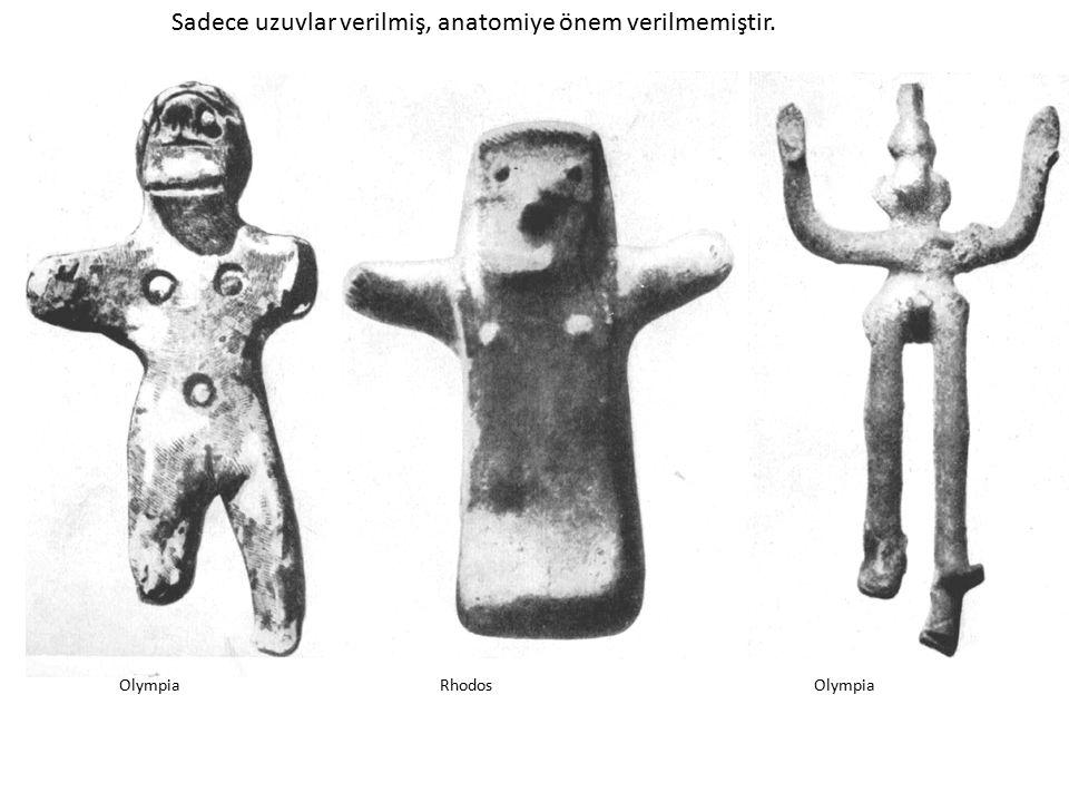OlympiaRhodosOlympia Sadece uzuvlar verilmiş, anatomiye önem verilmemiştir.