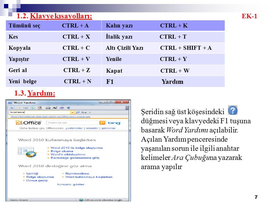 28 C.MADDE İMLERİ VE NUMARALANDIRMA C.1.