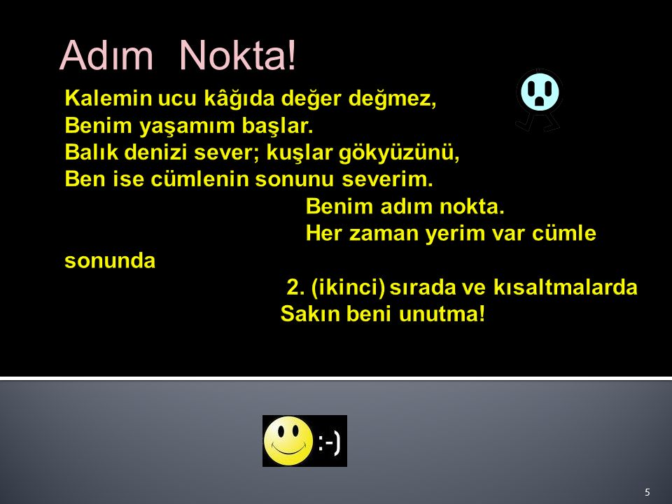 NOKTA (. ) 4