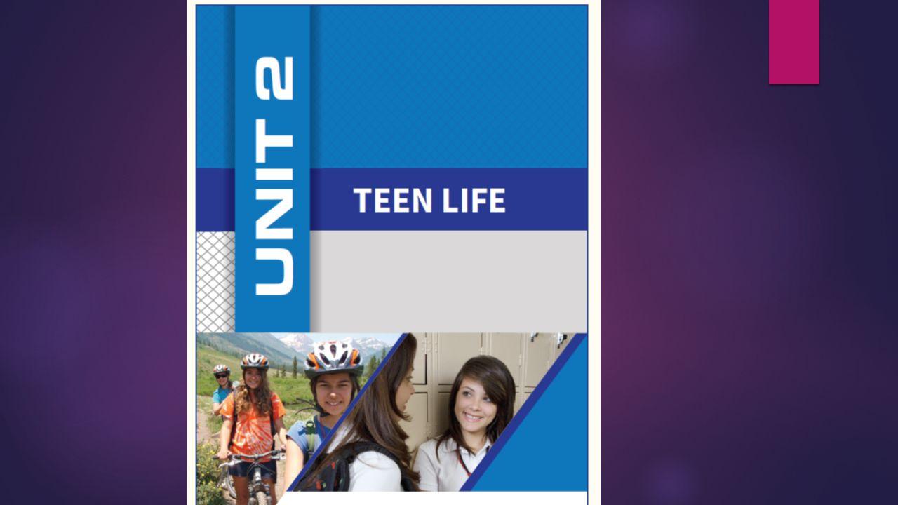  Teenager: Genç  Daily routine: Her gün yapılan işler  Leave: Ayrılmak  Get home: Eve varmak  Rest: Dinlenmek