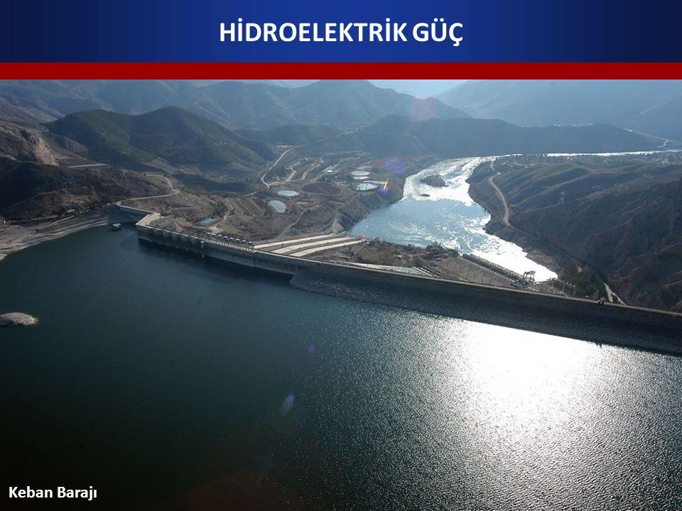 HİDROELEKTRİK GÜÇ Keban Barajı