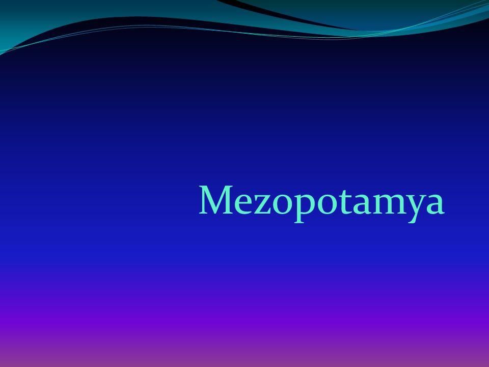 Mezopotamya da ortaya çıkan sayısız medeniyetin temelini Sümerler atmıştır.