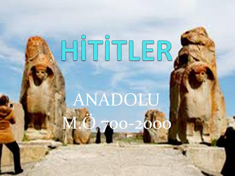 ANADOLU M.Ö 700-2000