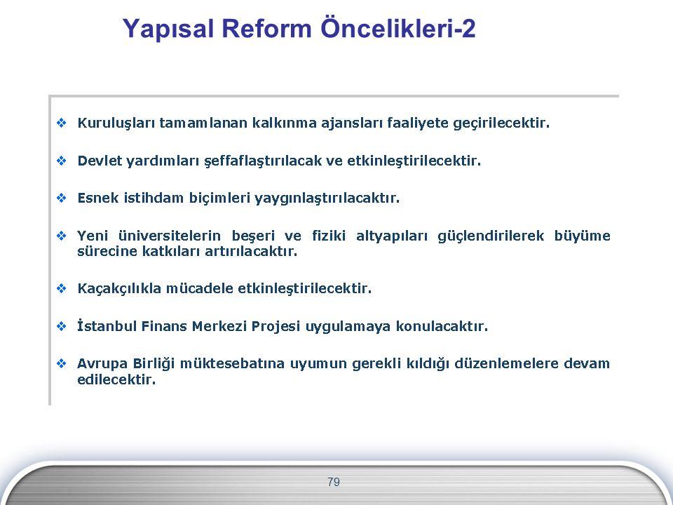 Yapısal Reform Öncelikleri-2 79
