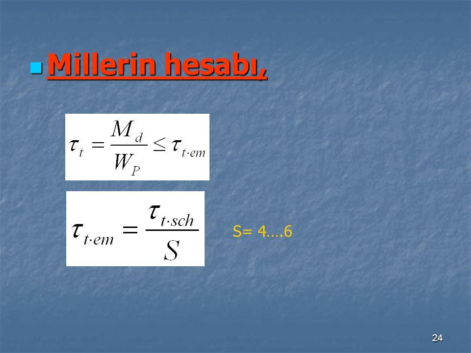 24 Millerin hesabı, Millerin hesabı, S= 4….6