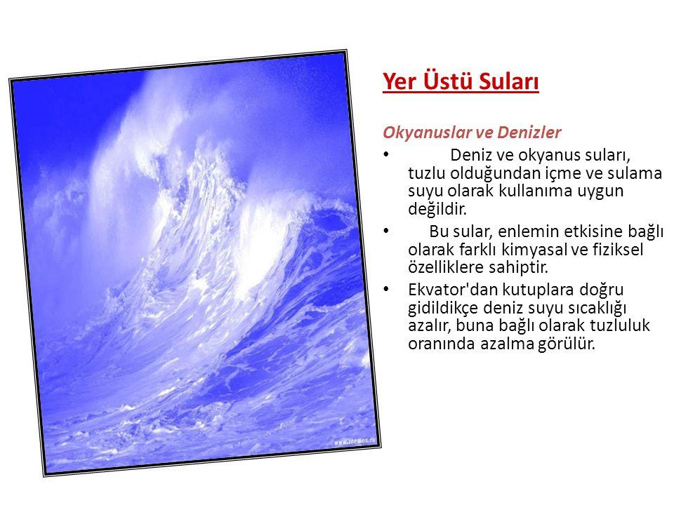 Karadeniz Havzası Bu havzalardaki akarsulardan bir kısmı da Kuzey Anadolu dağlarının iç bölümlerinde ve iç Anadolu dan doğarak, dağ sıralarını dikine kesip Karadeniz e ulaşırlar.