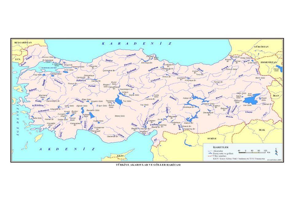 Akdeniz Havzası Akdeniz kıyılarını yakından izleyen Toros dağları bu havzadaki akarsuların hem uzunluklarını sınırlandırmakta, hem de rejimleri üzerinde etkili olmaktadır.